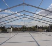 carpas techo dos aguas estructura