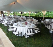 carpas para bodas mesas