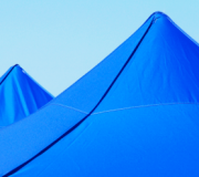 carpas plegables azul