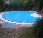 lonas para piscinas riñon