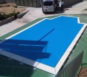 lonas para piscinas chalet