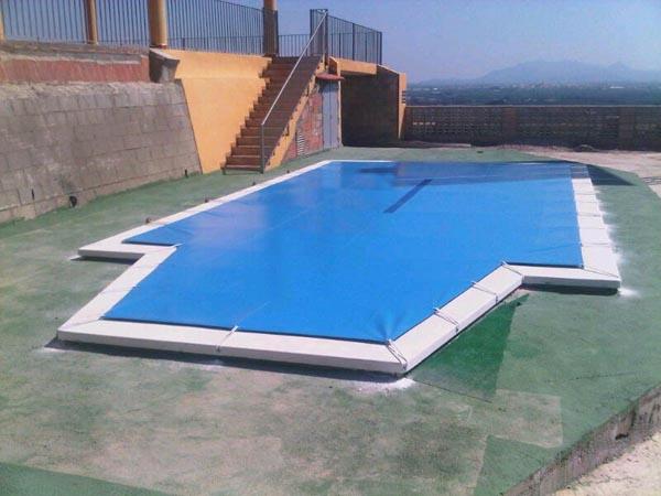 Toldos para piscinas precios finest cobertor o lona - Toldo para piscina ...