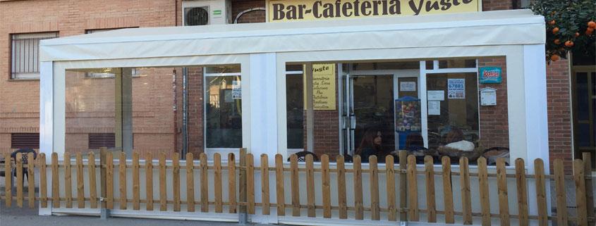 Alquiler de carpas para bares y terrazas en lonatec venta - Toldos terraza bar ...