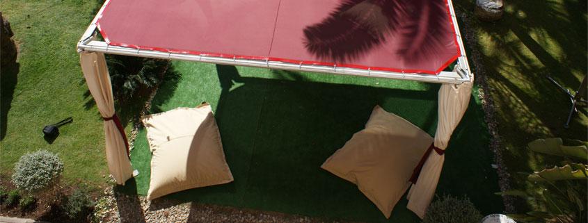 alquiler de carpas techo plano