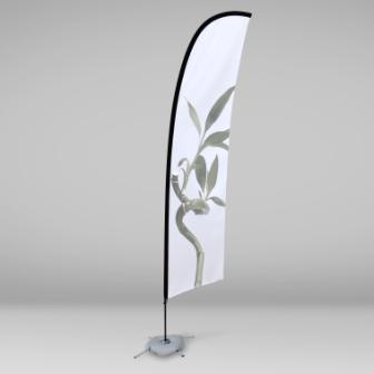 Banderola tipo surf