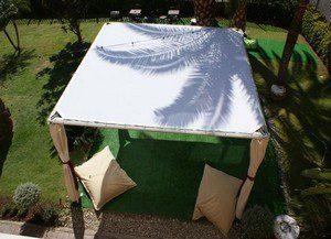 alquiler de carpas techo