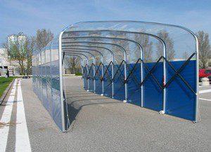 alquiler de carpas tunel