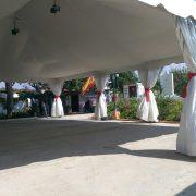 instalación de carpa para boda