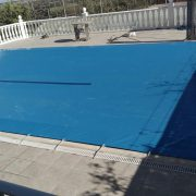 Montaje lona piscina, cubre piscinas, cubiertas de piscinas