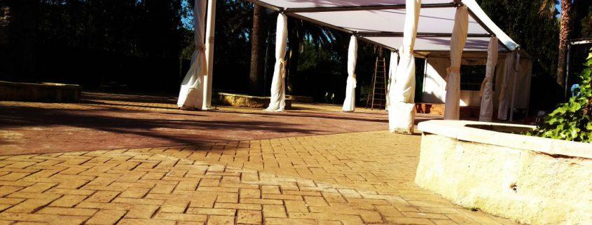 carpas para comuniones, carpas techo plano