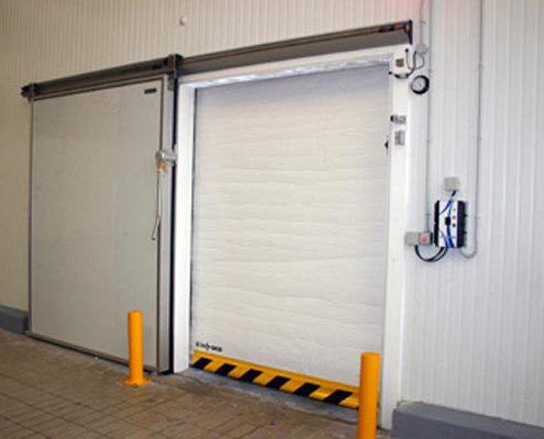 reparacion de puertas rapidas, lonas para puertas rapidas