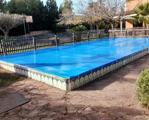 lonas, lona cubre piscina